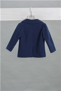 JACKET PIQUET BLUE