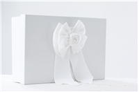 "BAPTISM BOX ""WHITE BOW"""