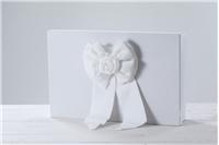 """BAPTISM BOX """"WHITE BOW"""""""