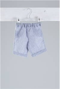 BERMUDA SHORTS LINEN GREY