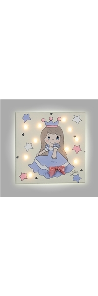 "PAINT WITH LED ""PRINCESS"" HEARTMADE"
