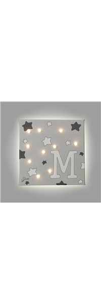 "PAINT WITH LED ""STARS"" HEARTMADE"