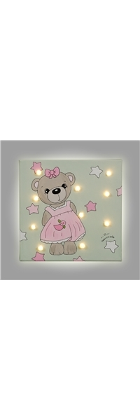 "PAINT WITH LED ""BEAR"" HEARTMADE"