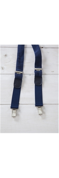 BRACES PIQUET BLUE