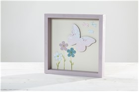 "WOODEN FRAME ""BUTTERFLY"""