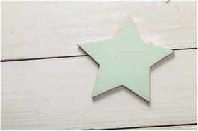 "WOODEN BOMBONIERE ""STAR"""