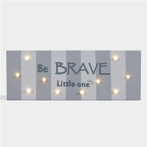 "PAINT WITH LED ""BE BRAVE"" HEARTMADE"