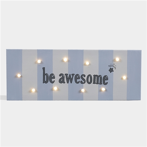 "PAINT WITH LED ""BE AWESOME"" HEARTMADE"