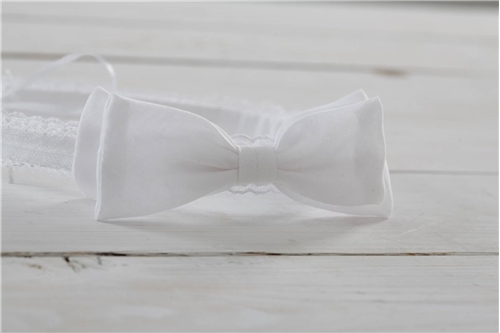 BAPTISTIC WREATH COTTON BOW