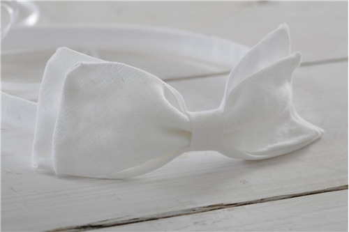 BAPTISTIC WREATH LINEN BOW