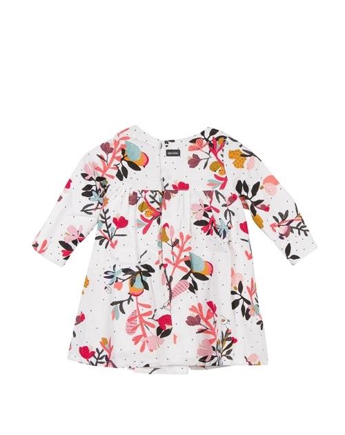 Φορεμα με λουλουδια και φιογκο CATIMINI