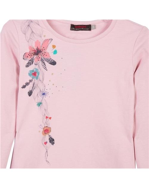 Μπλουζα με λουλουδια στο πλαι CATIMINI