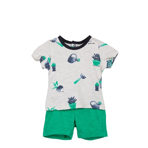 T-shirt and Trousers Set Catimini