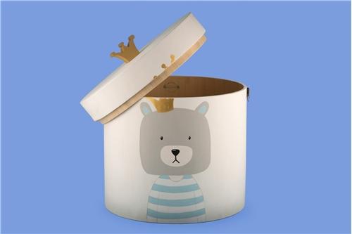 WOODEN BOX ''BEAR''