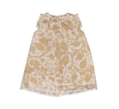 Φορεμα με Λουλουδια Μπεζ  Sugar n