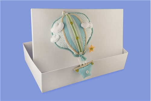 "BAPTISM BOX ""BALLOON"""
