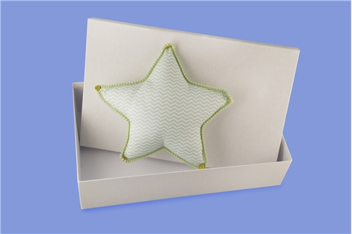 "BAPTISM BOX ""STAR"""