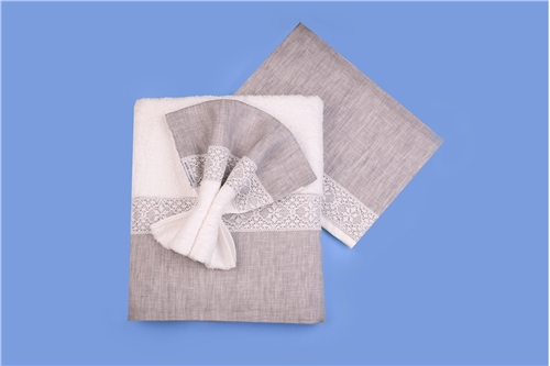BAPTISM SET GREY