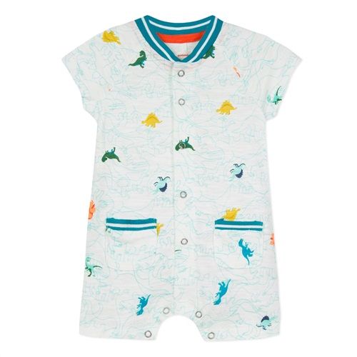 BODYSUIT WITH DINOSAURS CATIMINI
