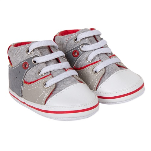 GREY-RED SHOES ABSORBA