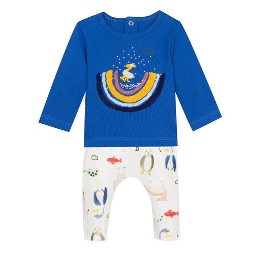 SET T-SHIRT-TROUSERS CATIMINI