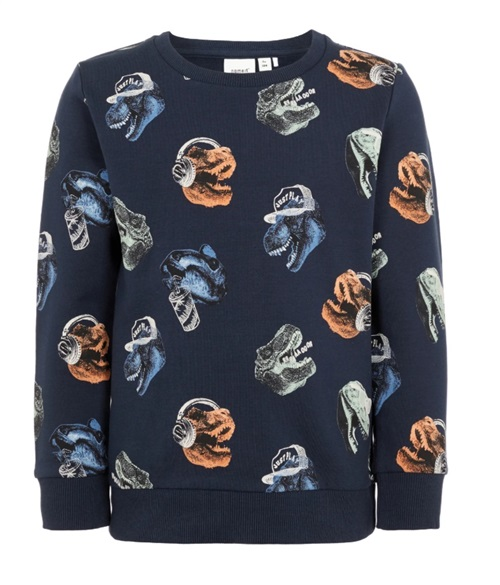 "BLOUSE WITH ""DINOSAURS"" NAME IT"