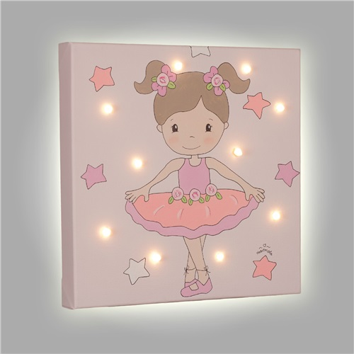 "PAINT WITH LED ""BALLET DANCER"" HEARTMADE"