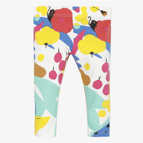TROUSER WITH FLOWERS CATIMINI