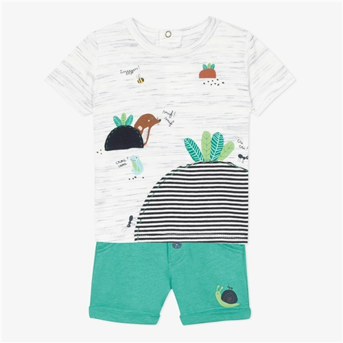 SET T-SHIRT-SHORTS CATIMINI