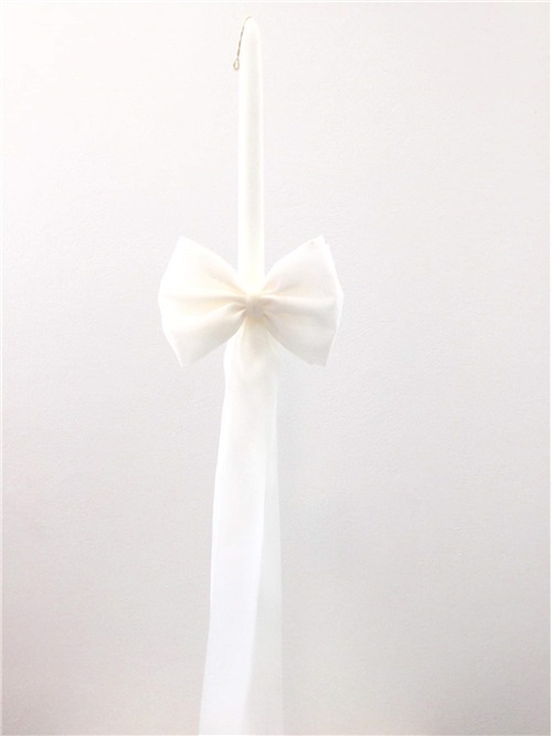 CANDLE BOW ORGANDIE
