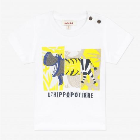 "T-SHIRT ""HIPPOPOTIBRE"" CATIMINI"