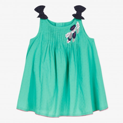 GREEN DRESS CATIMINI