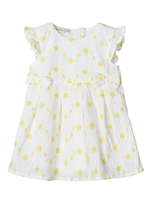 DRESS WITH BOWS BRODERIE NAME IT