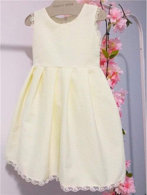 YELLOW DRESS SNS