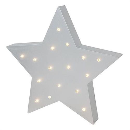 WOODEN LIGHT STAR JABADABADO