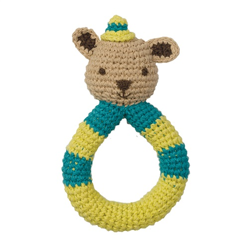 "CROCHET RATTLES ""SQUIRREL"" BABYLONIA"