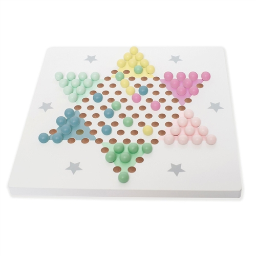 WOODEN CHINESE CHECKERS JABADABADO