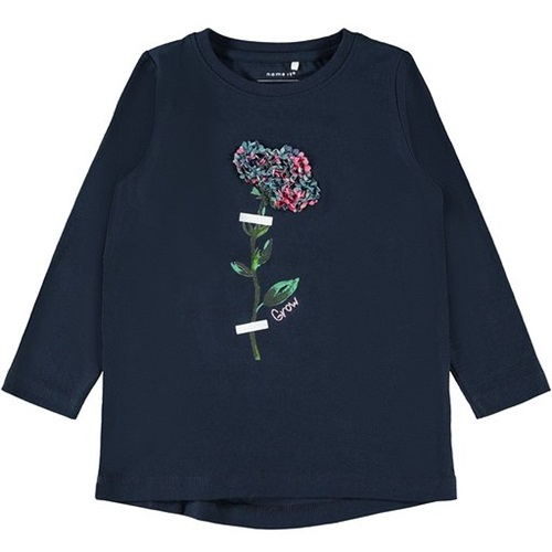 BLOUSE WITH FLOWER NAME IT