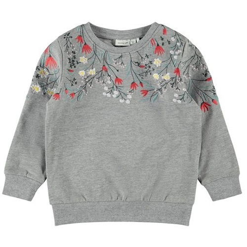 BLOUSE WITH FLORAL DETAILS NAME IT