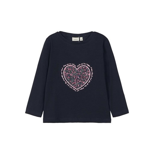 BLOUSE WITH HEART NAME IT