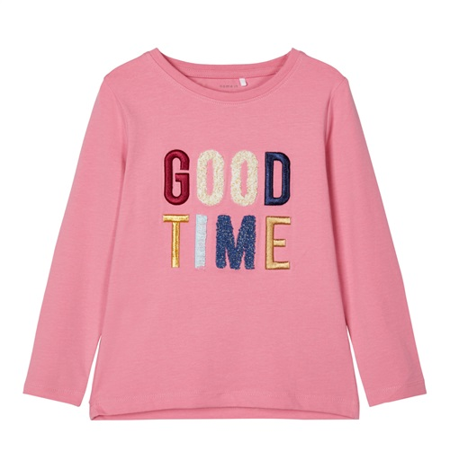 "BLOUSE ""GOOD TIME"" NAME IT"