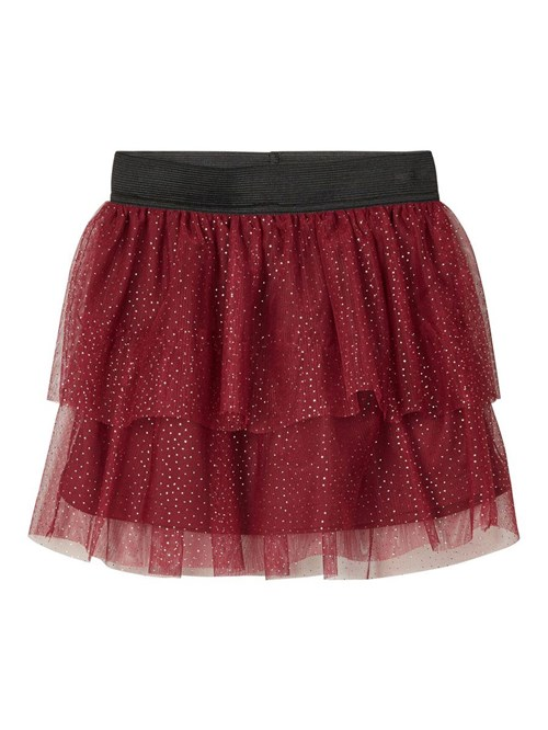 "SKIRT ""TUTU BORDAUX"" NAME IT"