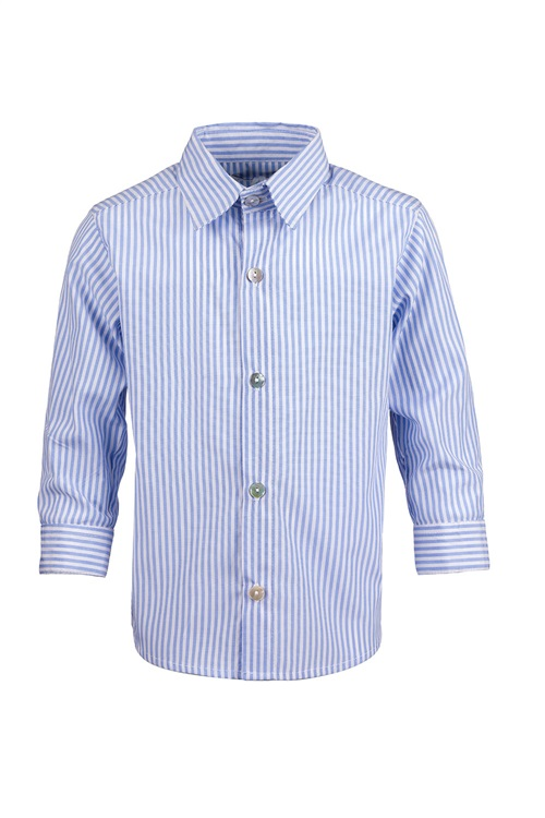 SHIRT OXFORD COTTON STRIPED