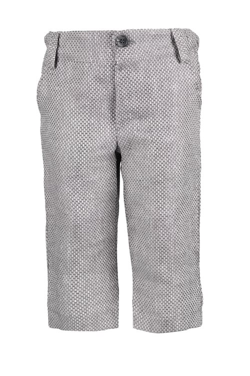 TROUSERS LINEN GREY