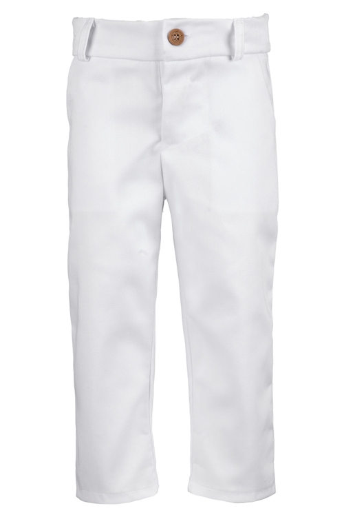 TROUSERS GABARDINE WHITE