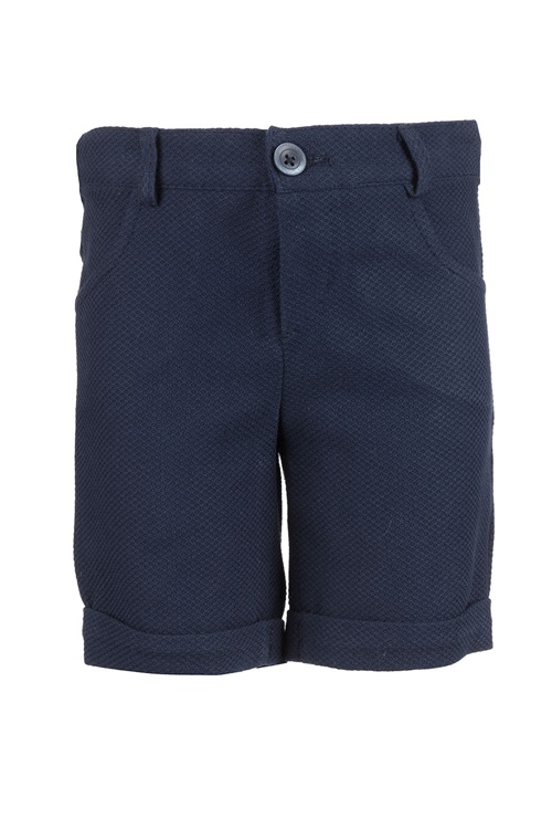 BERMUDA SHORTS PIQUET BLUE