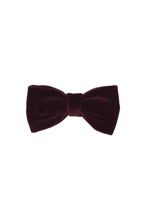 VELVET BOW BORDEAUX