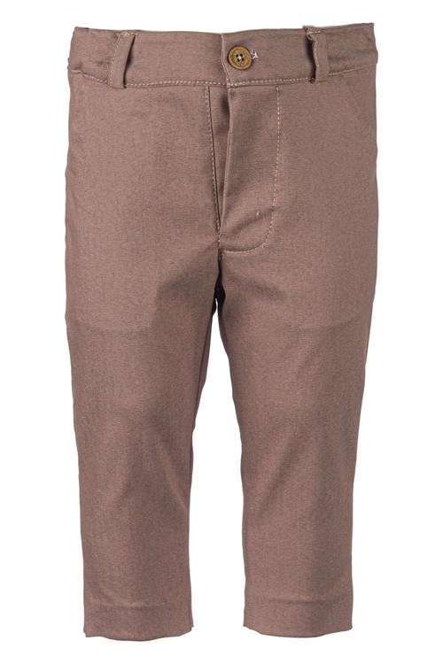 TROUSERS GABARDINE BROWN