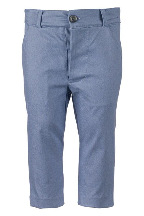TROUSERS GABARDINE BLUE