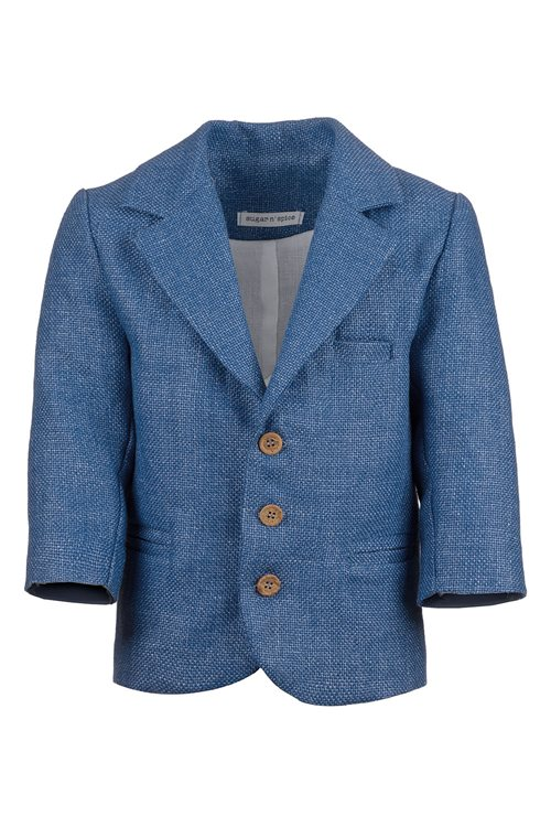 JACKET COTTON BLUE